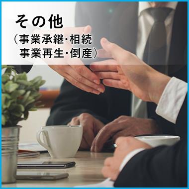 その他(事業承継・相続事業再生・倒産)